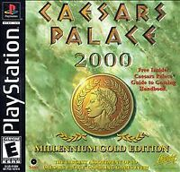 Caesars Palace 2000 (PlayStation 1, PS1) Disc Only, Tested