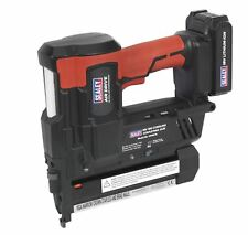 Sealey CPNG18 Cordless Nail / Staple Gun 18G Nailer Second Fix 18V Li-ion