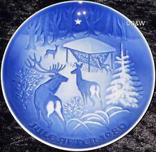 1980 Bing & Grondahl/Royal COPENHAGEN PIATTO DI NATALE Top 1. scelta