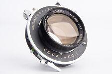 Sankyo Kohki Komura Commercial 210mm f/6.3 Large Format Lens NEAR MINT V14