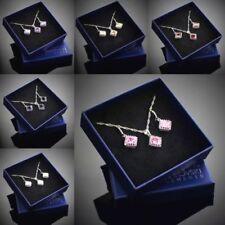 Cubic Zirkonia Modeschmuck-Sets mit Kristall-aus Sterlingsilber