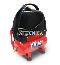 COMPRESSORE D'ARIA 6 LT CON DA TRASPORTO COASSIALE FIAC F3100/6 230V 1,1 KW