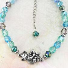 Koala Australian Souvenir Bracelet with Crystals & Natural Gemstones