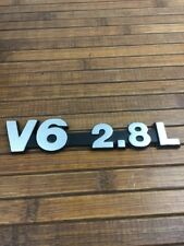 JEEP CHEROKEE V6 2.8L REAR HATCH EMBLEM - NEW