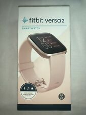 Fitbit FB507RGPK Versa 2 Smartwatch, Copper Rose