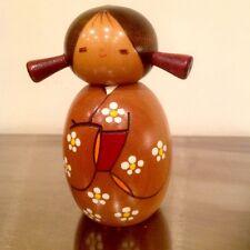 Haruyokoi Springtime Wooden Japanese Kokeshi Doll