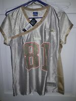 Randy Moss New England Patriots NFL  Reebok Vintage football Jersey - Ladies M