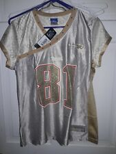 Randy Moss New England Patriots NFL  Reebok Vintage football Jersey - Ladies M