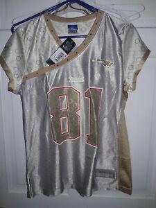 Randy Moss New England Patriots NFL  Reebok Vintage football Jersey - Ladies L