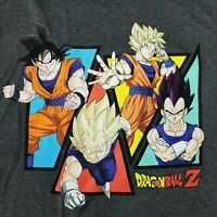 Dragon Ball Z Men's XL T-Shirt Licensed Super Saiyan Goku Vegeta DBZ Anime