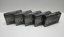 5 Sony Pro XL1 DVC Mini DV camcorder video tape for Canon XL1S XL2 ZR ZR10 ZR20