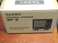 Yaesu External Speaker Sp-8 NEW IN ORIGINAL BOX'