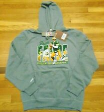 MITCHELL & NESS NFL GREEN BAY PACKERS BRETT FAVRE HOODED SWEATSHIRT SIZE L