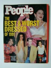 "1991 People Magazine Madonna Photograph Cover ""Best & Worst Dressed"""