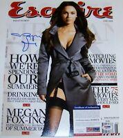 RARE FULL  AUTO Megan Fox Signed Autographed 11x14 Photo PSA THE IN PRESENCE COA