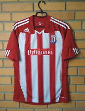 Stoke Home football shirt 2010 - 2011 size M jersey soccer Adidas