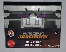 Minecraft Dungeons Holy Plate Battle Chest 7 Pc. Suit Of Armor 1 Weapon-1 Amulet