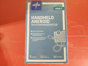 Medline Large Adult Handheld Aneroid Sphygmomanometer, MDS9380