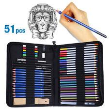 Professional Drawing Artist Kit Set Pencils and Sketch Charcoal Art Tools Usa