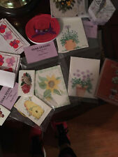 hand painted notcards, red hat stationary plus more