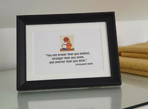 Christopher Robin Quote - Frame
