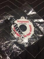 Vintage NOS Seagrams Coolers Bottle Opener Keychain~ Plastic Beer Keychain 80s-