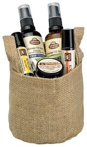 Sport Lover's Gift Basket All Natural with Essential Oils Fabulous Frannie