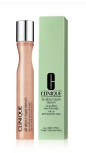 BNIB Clinique All About Eyes Serum Depuffing Eye Massage Roll On.