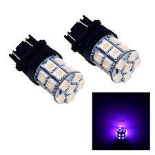 2x 3157 3457A 3156 20 SMD LED Brake Stop Turn Signal Light Bulb Lamp Purple USA