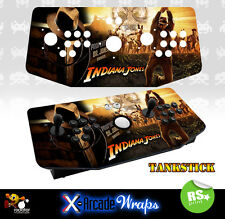 Indiana Jones X Arcade Tankstick Overlay Artwork Graphic Sticker