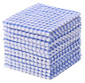 Egles Kitchen Dish Cloths Set Cotton Towels Pack of 4,12,24 - 3 Colors and mix
