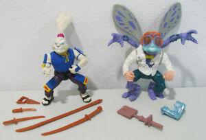 Teenage Mutant Ninja Turtles Usagi Yojimbo & Baxter Stockman w/Weapons - TMNT