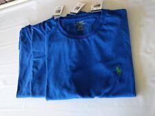 NWT One Piece Ralph Lauren Polo Men Crew Neck Pony Logo T-Shirt Blue/Green Pony