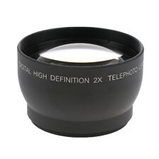 52mm 2x Telephoto Lens for Canon DSRL Camera Nikon D3100 D5100 D3200 18-55mm