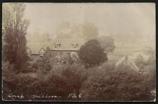 Milborne Port. Knap. Card written by R.W.W.