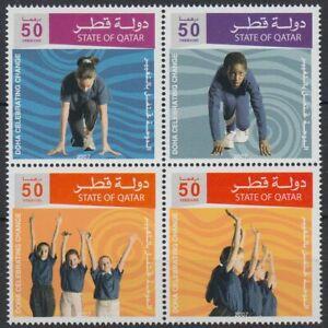 Qatar 2007 ** Mi.1312/15 Zdr. aus Block Olympic Games Application Sport [q846]