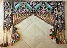ANATOLIAN Turkmen Pictorial RUG Door VALANCE ARTS & CRAFT:  Wall Hanging ART