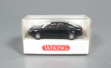 WIKING 1240122 AUDI A6 BERLINE 1/87 HO BLACK SCHWARZ MADE IN GERMANY MODELISME