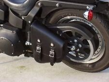 Harley Davidson Softail Breakout Large Chopper Swing Arm Bag Black