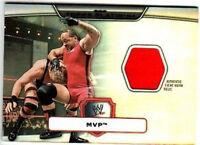 WWE MVP Topps Platinum 2010 Event Worn Relic Card FD30
