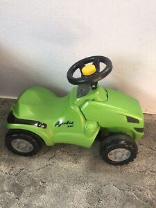 🚜 Traktor Agrokid Kinder Kindertraktor Rutscher Rutschfahrzeug Neuwertig Rolly