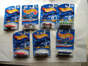 Hot Wheels 1999 - 2001 lot first editions  and more MOC carded