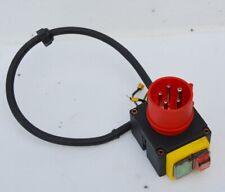 Schalter - Stecker KOA7 Kombination für Holzspalter, Kreissägen 400V - Wippsäge