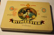 Vintage cigar tin box RITMEESTER Corona Holland