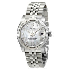 Rolex Oyster Perpetual Datejust Mother of Pearl Dial Automatic Ladies Watch
