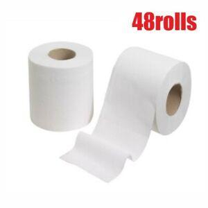 Toilet Paper Rolls 48 Rolls 2plys 400sheets Per Roll