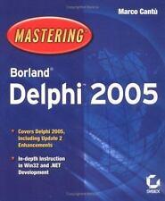 Mastering Borland Delphi 2005 (Mastering)