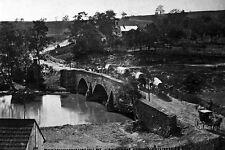 New 5x7 Civil War Photo: Union Army Wagons Cross Antietam Creek at Sharpsburg