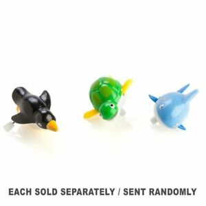 Wind Up Swimming Animal Creatures Toy Perfect for Bath Time 3 Assorted Designs