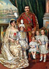 KAISER KARL I. von ÖSTERREICH mit Familie OTTO VON HABSBURG K&K FAKSIMILE 91